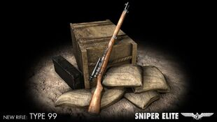 Type99 Sniper-Rifle in Sniper-Elite