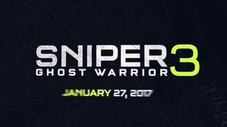 Sniper Ghost Warrior 3 Trailer