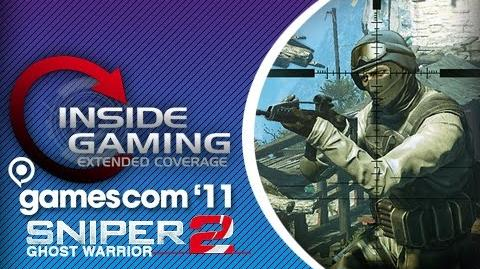 Gamescom 2011 - Sniper Ghost Warrior 2 Interview w Michael Sroczynski