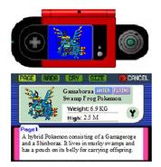 Gemaborra Hybrid Pokemon Pokedex Entry - Hybrid Pokedex Entry Number One