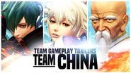 "KOF XIV - Team Gameplay Trailer 11 ""CHINA"""