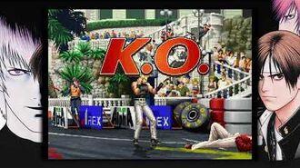 THE KING OF FIGHTERS '97 GLOBAL MATCH sergio jugador de robert garcias .
