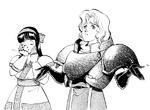 SS1-Charlotte and Nakoruru