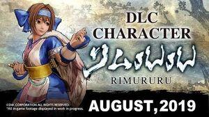 RIMURURU -- SAMURAI SHODOWN - SAMURAI SPIRITS – DLC Character 1 Trailer (Japan - Asia)