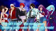 """KOF SKY STAGE"" Trailer (Xbox LIVE Arcade)"
