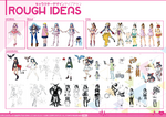 SNKH Artbook-Rough Ideas 1