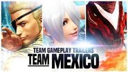 "KOF XIV - Team Gameplay Trailer 9 ""MEXICO"""