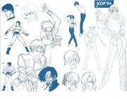 KOF94 Kyo ConceptArt