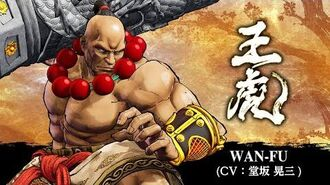 WAN-FU(王虎) SAMURAI SPIRITS –DLC Character (Japan)