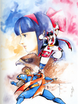 SSKY-Nakoruru and Galford
