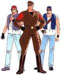 KOF '94 Ikari Team
