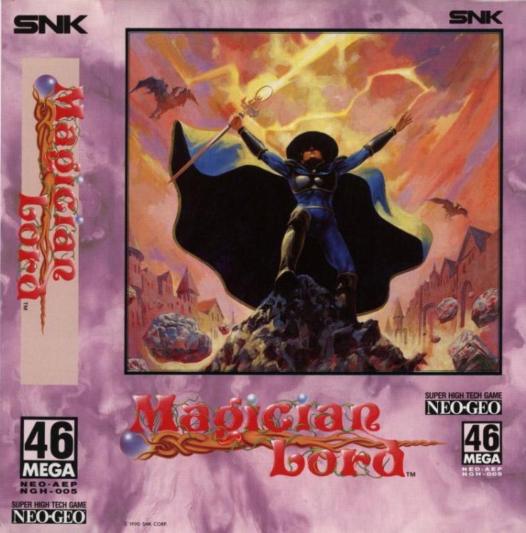 magician lord mvs