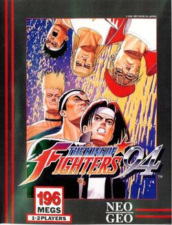 King of fighters94 box us