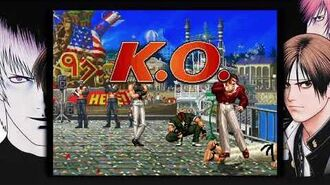 THE KING OF FIGHTERS '97 GLOBAL MATCH sergio reyes ledesma jugando con el equipo mexico .