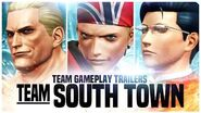 "KOF XIV - Team Gameplay Trailer 10 ""SOUTH TOWN"""