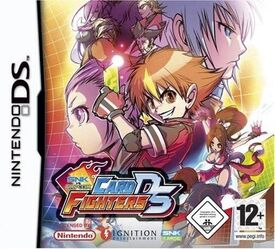SNK vs Capcom Card Fighters DS
