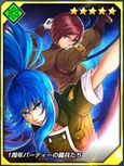 Kof card Leona optionanniversary