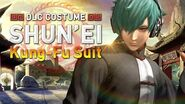 "KOF XIV - DLC COSTUME ""SHUN'EI Kung-Fu Suit"""