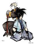 White - Seishiro & Tohma 1