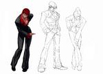 KOFXIII-Yagami Team