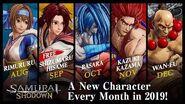SAMURAI SHODOWN SAMURAI SPIRITS – New DLC Characters
