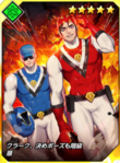 Kof-card-ranger ralf and clark 2