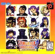 Samurai Shodown! 2 US cover