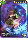 Kof card Leona option