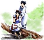 Shiroi Eiji-Nakoruru and Rimururu