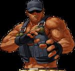 KOFXII-Clark-CharacterSelect