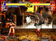 Kof 95 fight