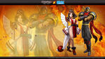 Hanzo and Mai Wizadry Online