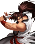 Haohmaru in The King of Fighters 98 UM OL