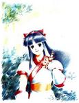 Shiroi Eiji - Nakoruru painting