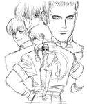 KOF97 Shinkiro Sketch