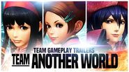 "KOF XIV - Team Gameplay Trailer 14 ""ANOTHER WORLD"""