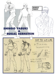 KOF98 Rugal and Shingo ConceptArt