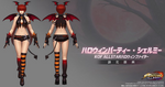 KOF All Star-Shermie-Halloween Outfit