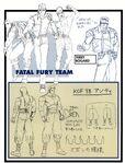 KOF98 FatalFuryTeam ConceptArt