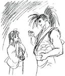 Shiroi Eiji- Nakoruru and Haohmaru