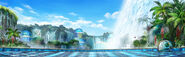 KOF-XIV-Stage-Iguazu-Falls