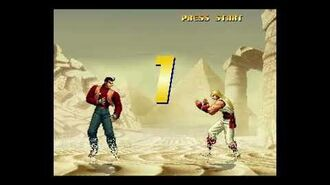 THE KING OF FIGHTERS 2000™ sergio reyes ledesma jugando con robert garcias