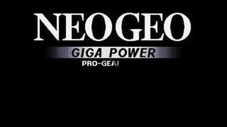 Presentacion NEOGEO Giga power