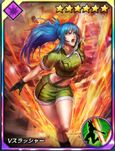 Kof card Leona vslasher