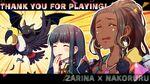 SNKH Zarina-Nakoruru Artwork