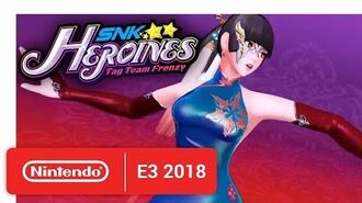 SNK HEROINES Tag Team Frenzy - Knockout Duo! Luong & Mian! - Nintendo E3 2018