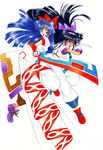 Aoi Nanase-Nakoruru and Purple Nakoruru-2