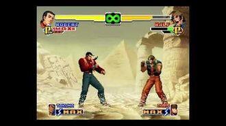 THE KING OF FIGHTERS 2000™ sergio reyes ledesma practicando con robert garcias