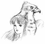 Shiroi Eiji-Nakoruru and Mamahaha