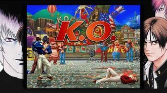 THE KING OF FIGHTERS '97 GLOBAL MATCH team sergio vs team iori